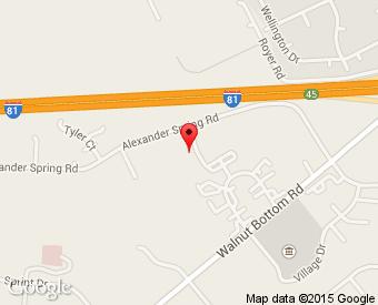 Google Map of 241 Alexander Spring Road, Carlisle, PA 17015